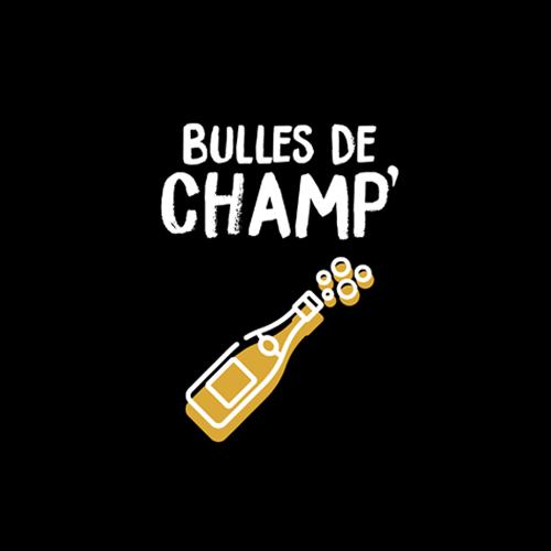 Logo Bulles de Champ