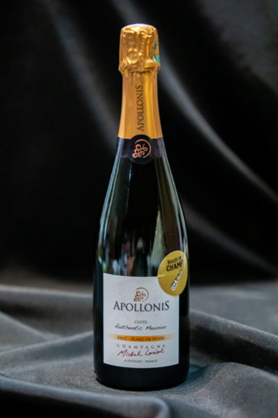 Boutique - Bulles de Champ' - Champagne Apollonis Cuvée Brut Authentic Meunier