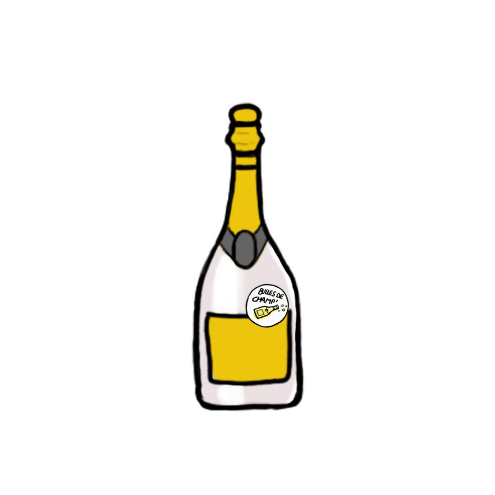 Picto champagne- Bulles de Champ'