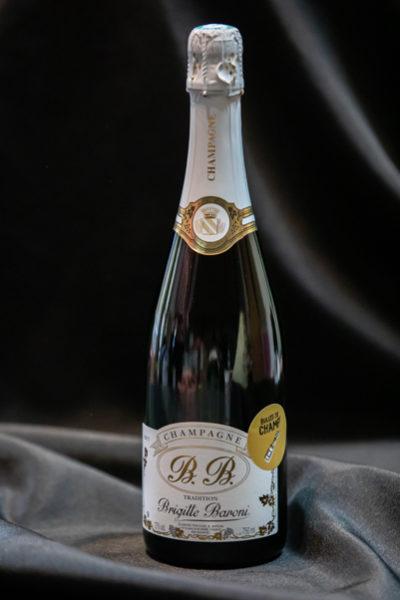 Boutique - Bulles de Champ' - Champagne Brigitte Baroni Brut Tradition