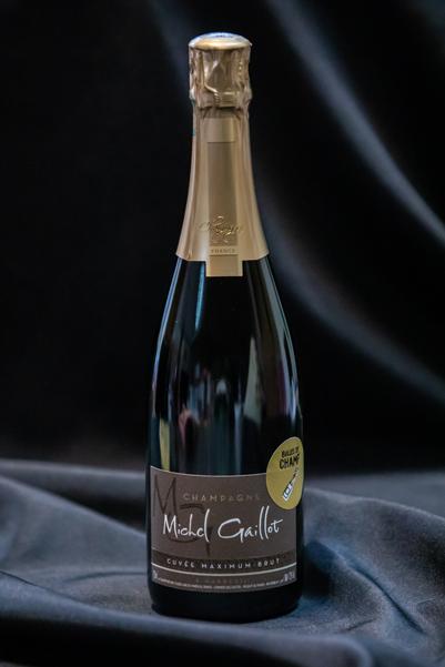 Boutique - Bulles de Champ' - Champagne Michel Gaillot Cuvée maxium brut